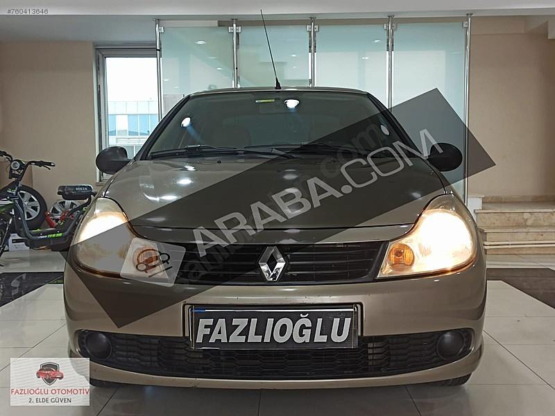 2009 SYMBOL 1.4 75BG AUTHENTİQUE SADECE 130 BİN DE BAKIMLI TEMİZ Renault Symbol 1.4 Authentique