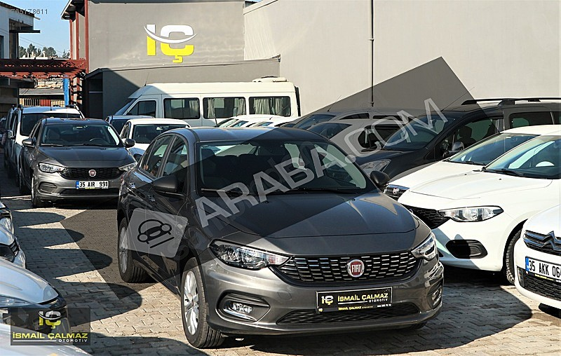 17.750 PEŞİNAT 2019 EGEA 1.4 FIRE EASY PLUS 402 KM DE BOYASIZ Fiat Egea 1.4 Fire Easy Plus