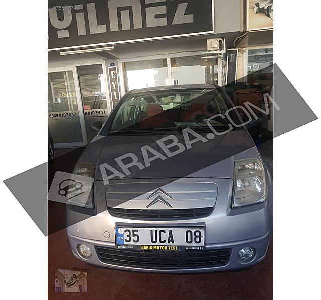 2.el citroen c2 izmir - 754803 araba.com