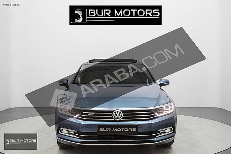 2017 VW PASSAT 1.6TDI HİGHLİNE CAM TVN HAYALET MASAJ BOYASIZ Volkswagen Passat 1.6 TDi BlueMotion Highline