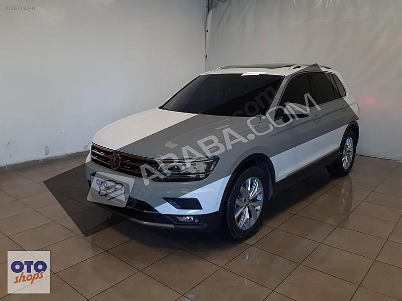 0 69 KREDİ 2019 TIGUAN 1.6 TDI BMT HIGHLINE HAYALET CAM TAVAN Volkswagen Tiguan 1.6 TDi Highline