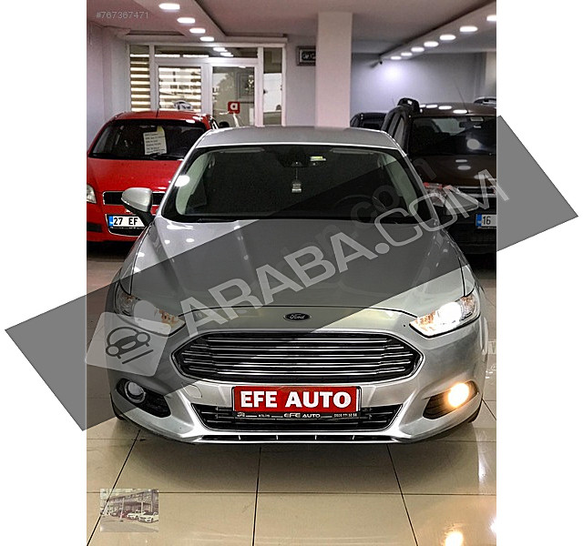 EFE AUTO DAN 2015 FORD MONDEO 2.0 TDCI STYLE POWERSHIFT FORD MONDEO 2.0 TDCI STYLE