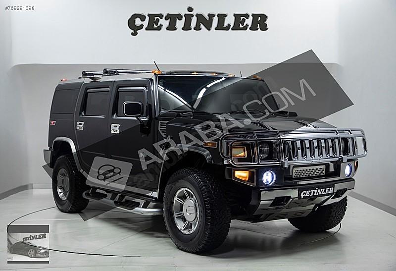 ÇETİNLER  DEN 2003 MODEL HUMMER H 2 6 0 630PS MOTOR SUPERCHARGER Hummer H Serisi H2