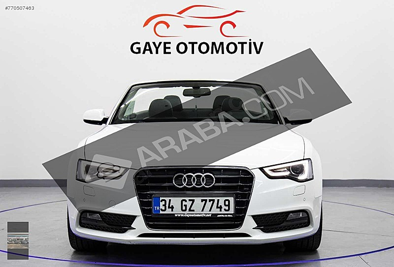 6.700KM     CABRİOLET AUDİ A5 1.8 TFSİ 170HP Audi A5 A5 Cabrio 1.8 TFSI