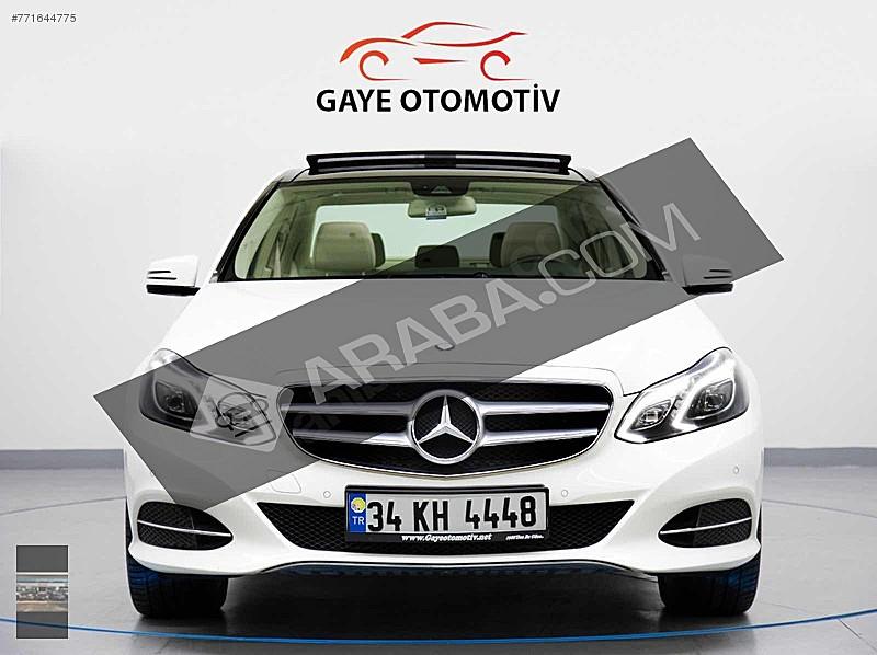 2.200KM     ORJİNAL BOYASIZ E180 ELİTE CAM TAVAN Mercedes - Benz E Serisi E 180 Elite