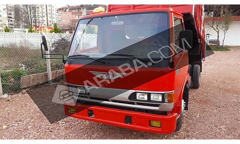orjinal ahşap damper 2000 model hino Hino FB FB 112