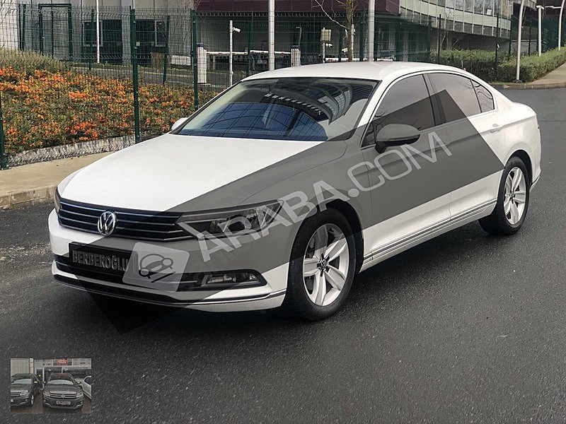 2017 PASSAT 1.6 TDİ DSG COMFORTLİNE YETKİLİ SERVİS BAKİMLİ Volkswagen Passat 1.6 TDi BlueMotion Comfortline