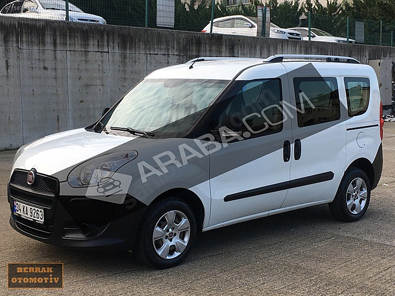2014 Fiat 1 3 Multijet Easy Doblo Combi 131 000 Km Beyaz