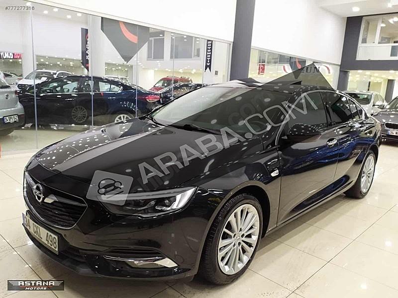 2017 ELİTE  KIŞ PAKET SUNROFF-ZENON LED-ISITMA-ŞERİT TAKİP Opel Insignia 1.6 CDTI  Grand Sport Elite
