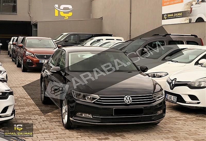 DİZEL OTOMATİK 2016 VW PASSAT 1.6 TDI COMFORTLINE DSG 120 PS Volkswagen Passat 1.6 TDi BlueMotion Comfortline