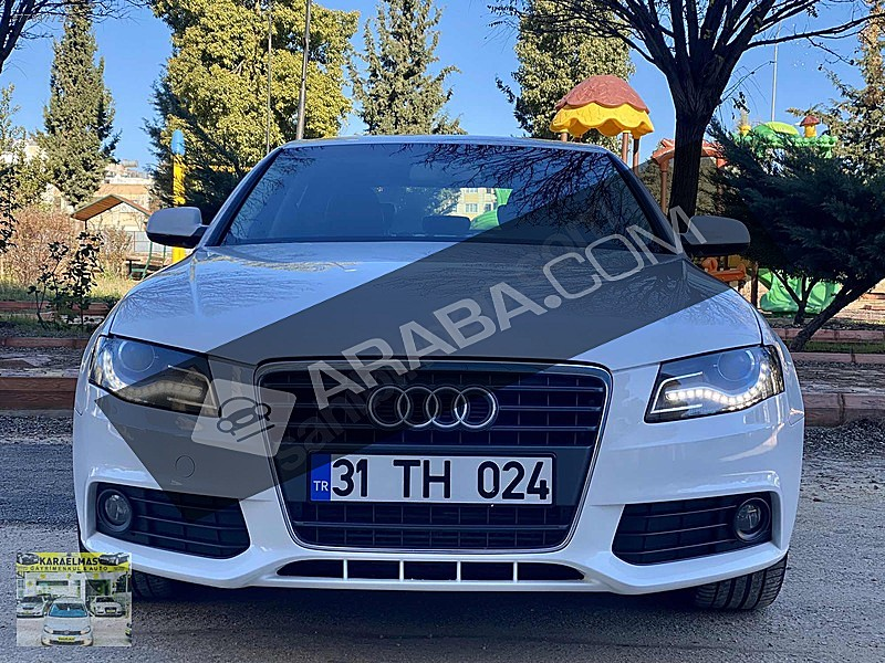 KARAELMAS DAN 2.0TDİ S-TRONİC TABA DERİ 108.000 KM 177 HP FULLL Audi A4 A4 Sedan 2.0 TDI