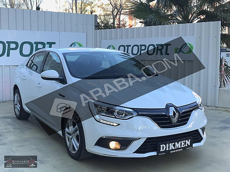 BOYASIZ - TRAMERSİZ - GARANTİLİ - GÖRÜŞ PAKETLİ MEGANE JOY 1.6 Renault Megane 1.6 Joy