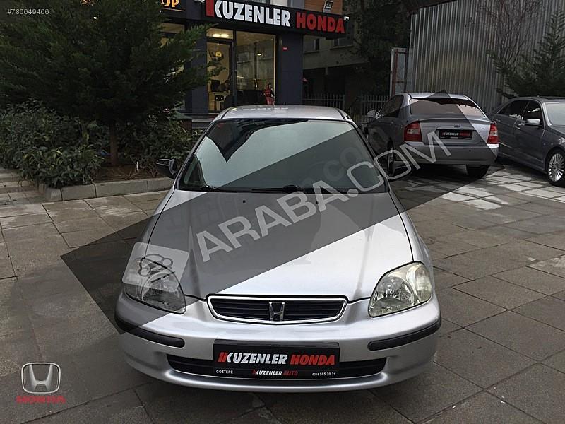 KUZENLER HONDA DAN 1999 CİVİC 1.6 İES OTOMATİK VİTES LPG Lİ Honda Civic 1.6 i ES