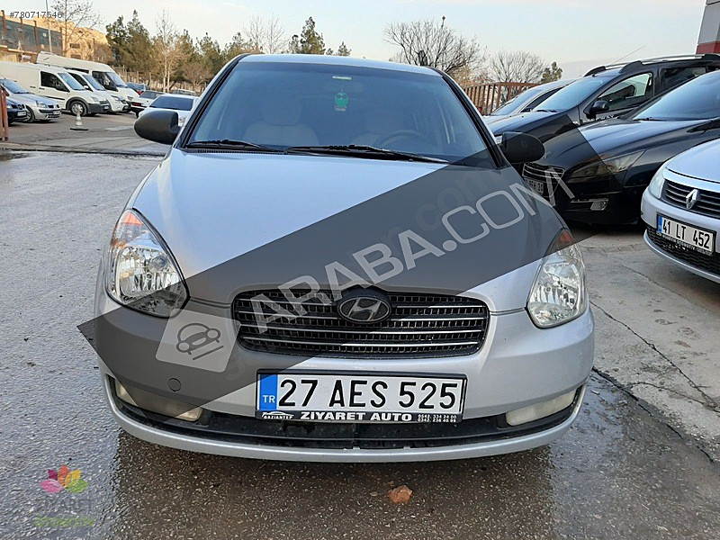 ZİYARET AUTODAN 2008 HUNDAY ERA TEAM PAKET Hyundai Accent Era 1.5 CRDi-VGT Team