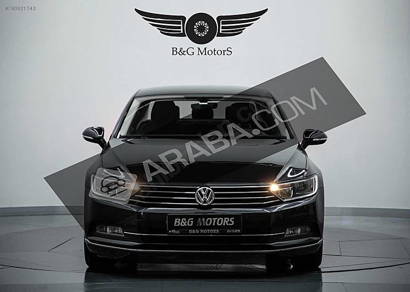 B G MOTORS DAN PASSAT 117.000KM SERVİS BAKIMLI VADE TAKAS İMKANI Volkswagen Passat 1.6 TDi BlueMotion Comfortline