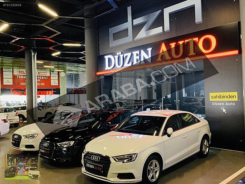 DÜZEN AUTO AUTOPİA 2017 A3 SEDAN 1.6 TDİ 116 PS DYNAMİC BOYASIZ Audi A3 A3 Sedan 1.6 TDI Dynamic