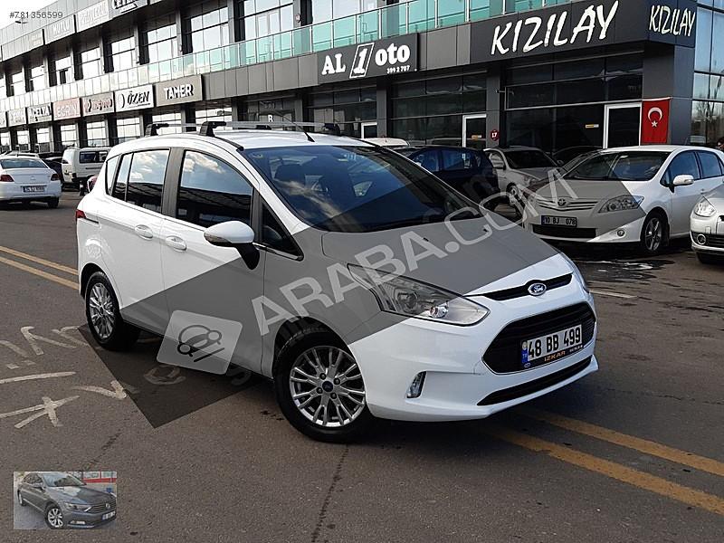 2016 Model 34 500 Km De Beyaz Ford B Max 1 6 Titanium Araba Com