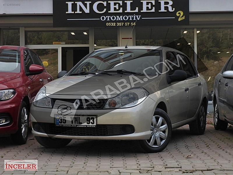 İNCELER OTOMOTİV DEN 2011 RENAULT SYMBOL 1.5 DCI AUTHENTIQUE Renault Symbol 1.5 dCi Authentique