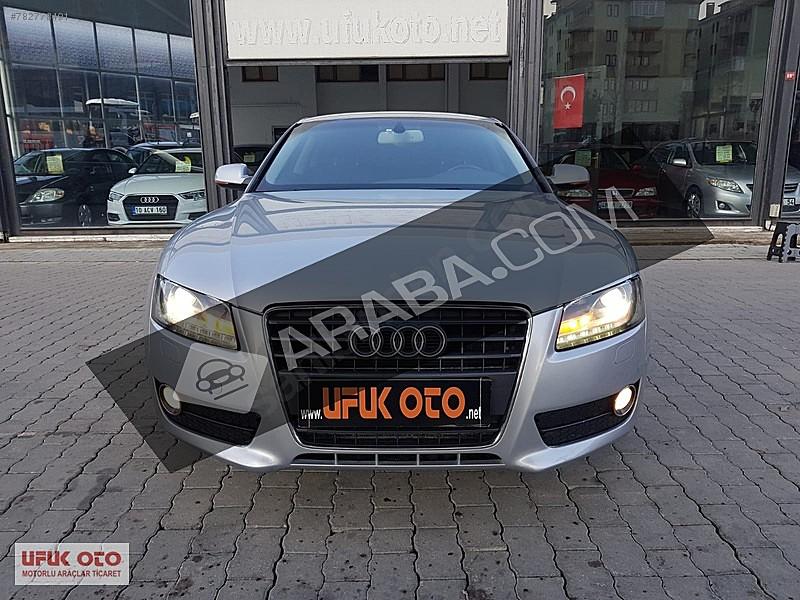 ufuk oto dan ilk sahibinden 105.000 km de iddaali a5 coupe audi a5 a5 coupe 1.8 tfsi