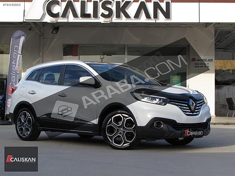 ÇALIŞKAN OTO SAMSUN BOYASIZ CAM TAVAN 2015 KADJAR İCON Renault Kadjar 1.5 dCi Icon