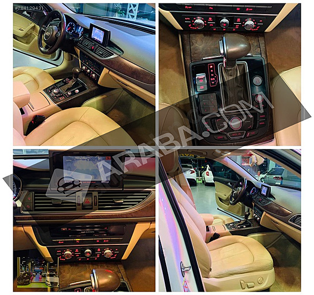 düzen auto autopia 2013 a6 sedan 2.0 tdi içi bej vakum mkm prde audi a6 a6 sedan 2.0 tdi