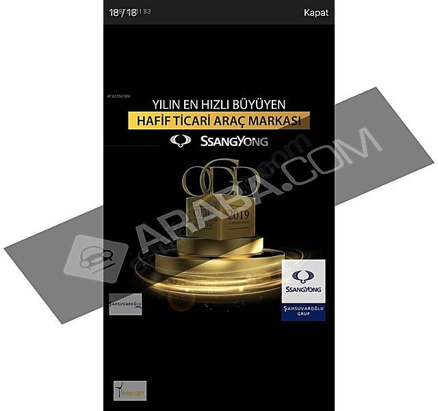 Sıfır KM garantili GAZİANTEP Ssangyong araç bayisi  Musso Grand 2.2 D Platinum Musso Grand 2.2 D Platinum
