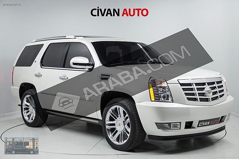 CİVAN 2012 CADILLAC ESCALADE 6.0 HYBRID BAYİİ-BOYASIZ-SOĞUTMA Cadillac Escalade 6.0 V8 Hybrid