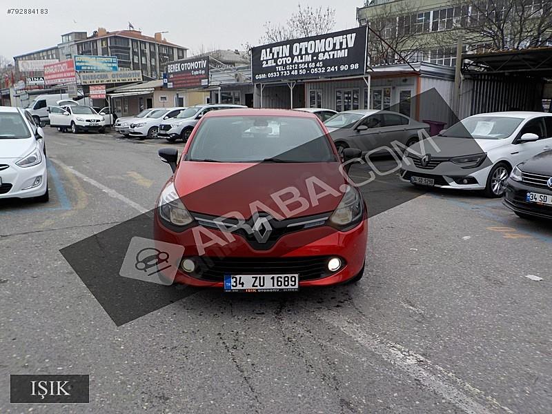 98 BİNDE 2015 MODEL RENAULT CLİO HB 1.5 DCi 90 HP İCON MANUEL Renault Clio 1.5 dCi Icon