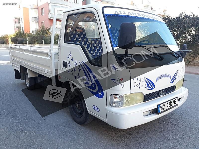 1997 MODEL BANGO MUAYENE YENİ Kia Bongo K2500 DLX