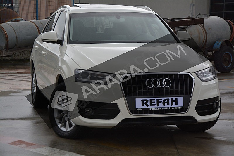 2014 AUDİ Q 3 1.4 TFSI S-TRONİC 150 HP HATASIZ BOYASIZ 40.000 DE Audi Q3 1.4 TFSi