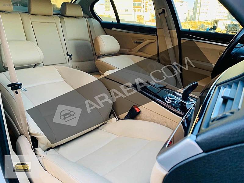 2015 Bmw 520d Premium 5 Serisi 153 000 Km Beyaz Gaziantep