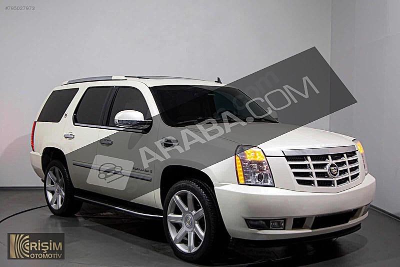 ERİŞİM DEN 2007 CADİLLAC ESCALADE LUXURY 6.2 V8 7 KİŞİLİK Cadillac Escalade 6.2 V8