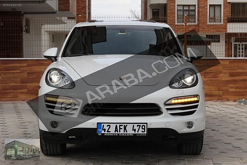 2012 PERSCHE CAYENNE 3.0 D BAYİİ BEYAZ Porsche Cayenne 3.0 Diesel