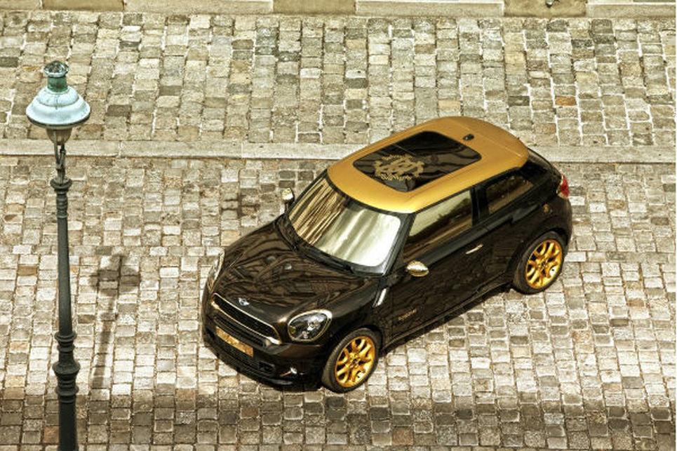 Mini Paceman Roberto Cavalli versiyonu