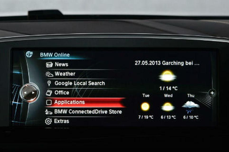 BMW, Connecred Drive, akıllı bilgi sistemi