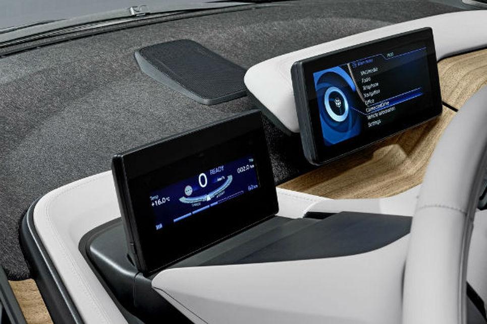 BMW i3, navigasyon, kontroller, connected drive, bilgi ve eğlence sistemi