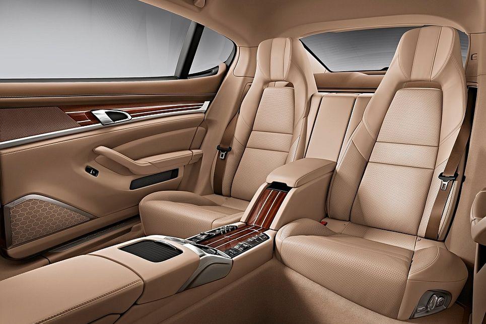 Porsche, panamera, executive, kabin, yolcu alanı