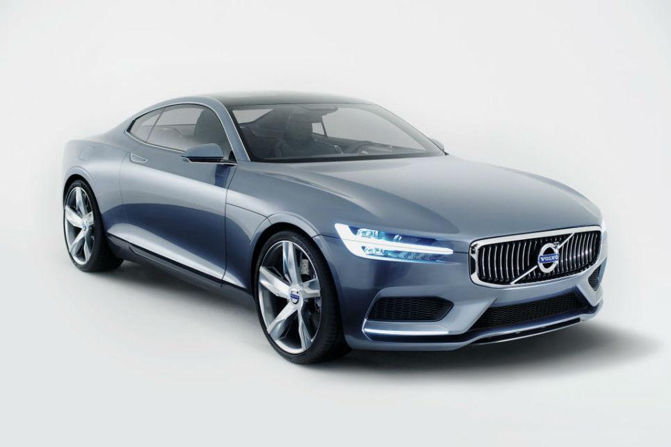 Volvo konsept coupe, concept coupe, Volvo p1800