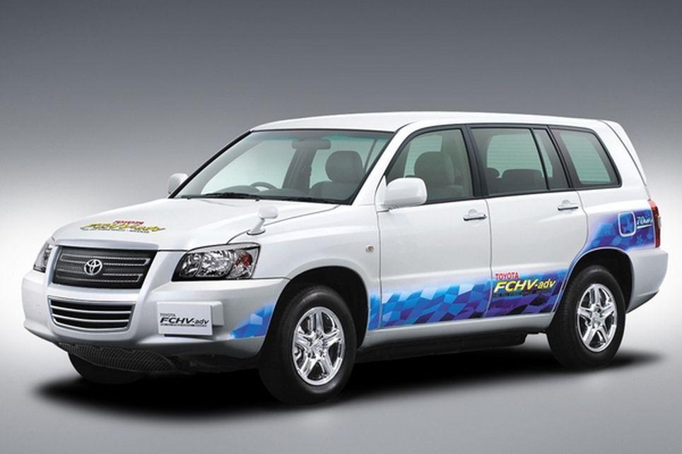 Toyota FC-V, FCHV, hidrojen yakıtlı otomobil, hidrojenli otomobil