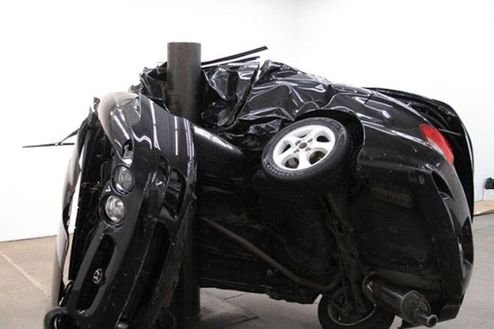 Çarpıştırılmış Otomobiller Sergisi