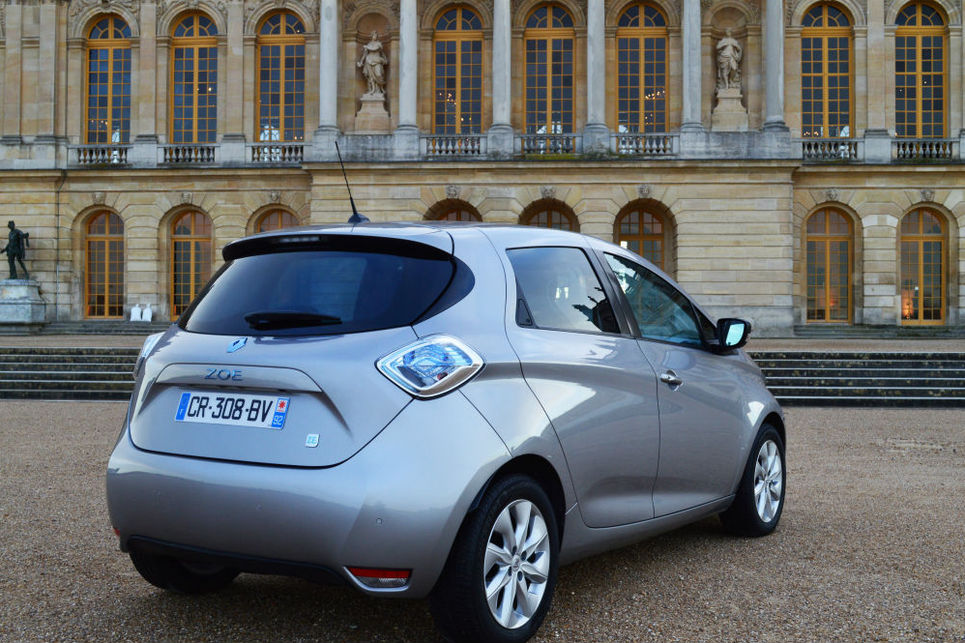Renault, Zoe, elektirkli otomobil, versailles sarayı