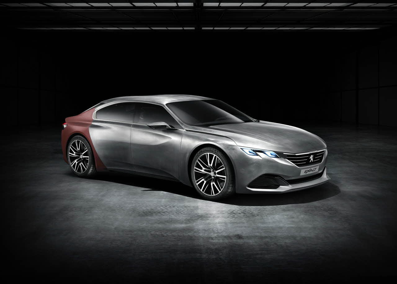 Peugeot, exalt, konsept