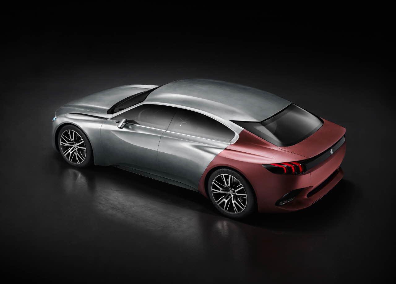 Peugeot exalt, konsept