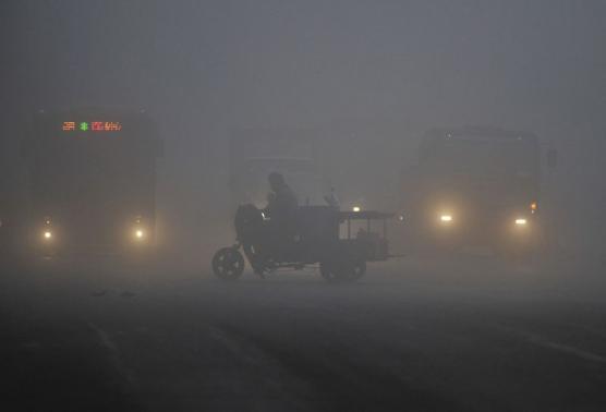 Çin'de hava kirliliği ülkenin tüm endüstrisini tehdit ediyor.