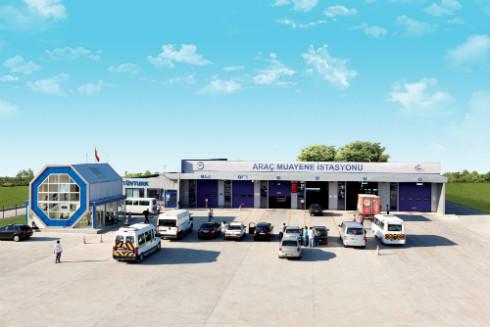 Araç Muayene istasyonu Görseli