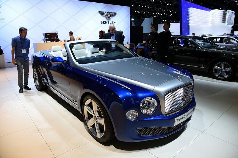 Bentley Mulsanne Cabrio Konsepti