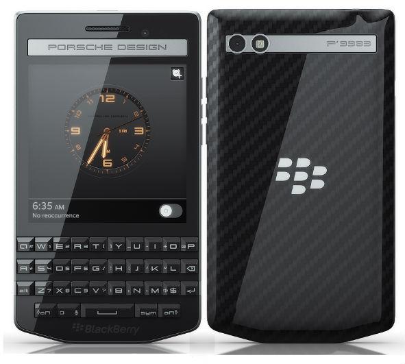 Porsche Design P'9983 Blackberry üzerinden hazırlanmıştı