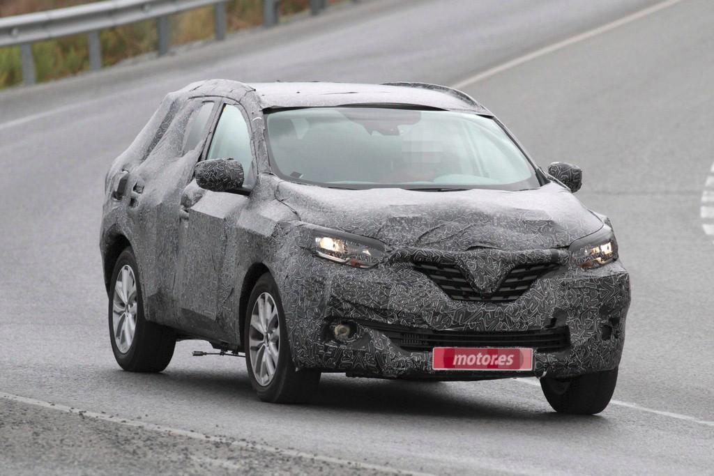 Renault Kadjar- Test sırasında yakalanan bir kare