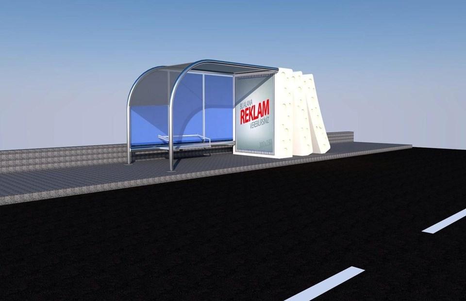 Ezine-İzmir Karayolundaki yeni otobüs durakları bu şekilde olacak