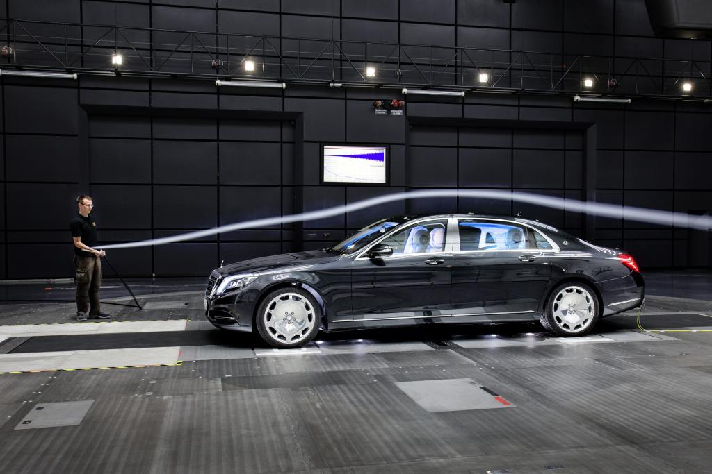 Aeroakustik testleri ile aracın dünyanın en sessiz otomobili olması sağlanmış